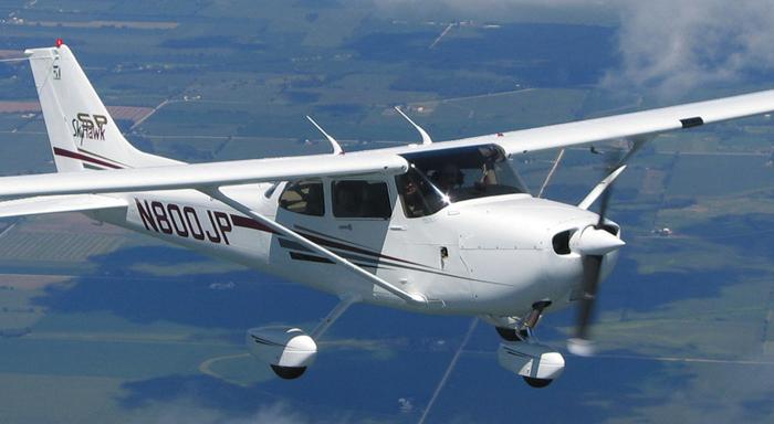 Asverstrooiing-Vliegtuig
