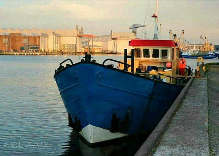 vlissingen-schip-asverstrooiing-asbijzetting-aqua-air-services-westerschelde-1