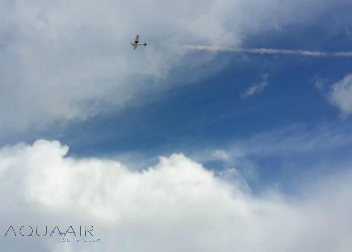 Fly-By asverstrooiing Scheveningen