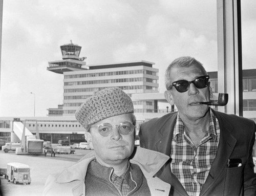 As van Truman Capote geveild in Los Angeles