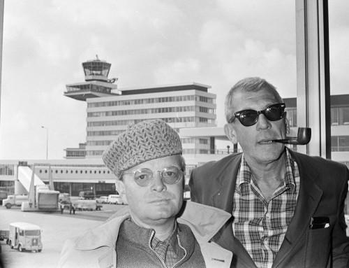 As van Truman Capote geveild in Los Angeles