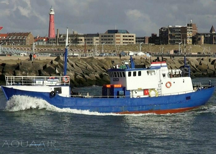 Stellendam2 boot voor asverstrooiing of asbijzetting op zowel de noordzee als het haringvliet