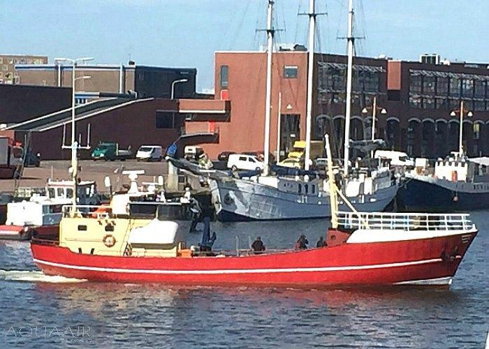 Asverstrooiing-boot-scheveningen-Hoek-van-Holland