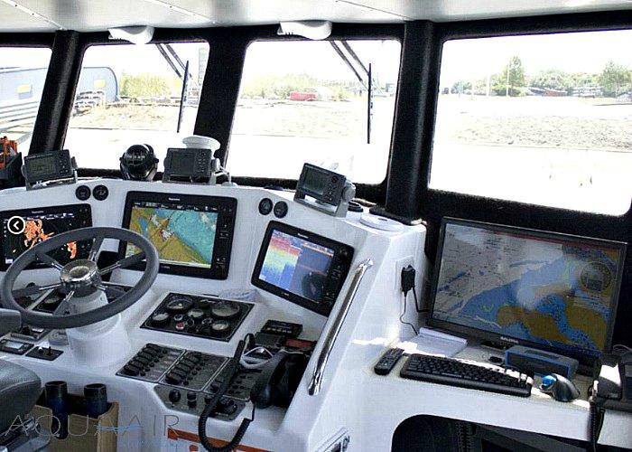 stuurhuis van de stellendam 1 een schip voor een asverstrooiing of asbijzetting op de noordzee of het haringvliet