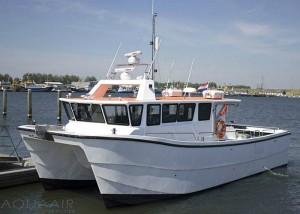 Stellendam 1 boot voor asverstrooiing of asbijzetting vanuit de haven van Stellendam